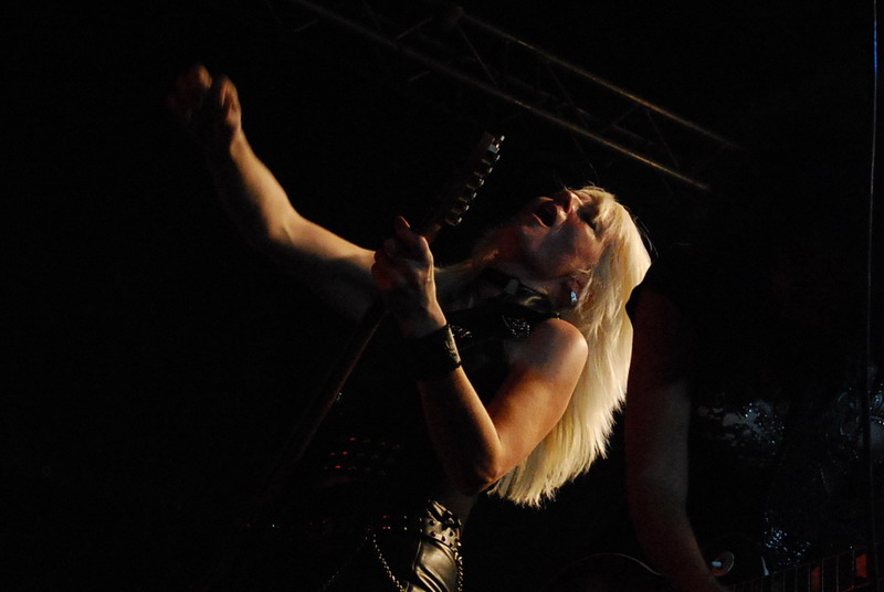 Girl School at British Steel Fest Bologna 2010