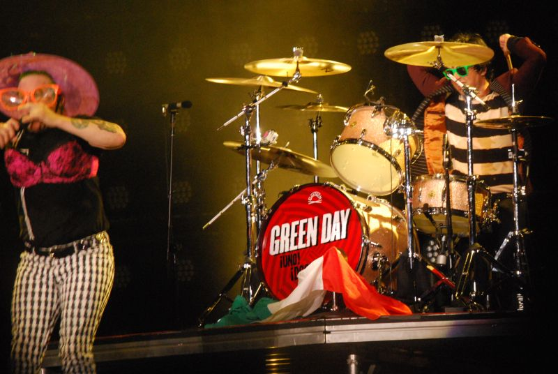 Green Day live at Fieramilano 24-5-13