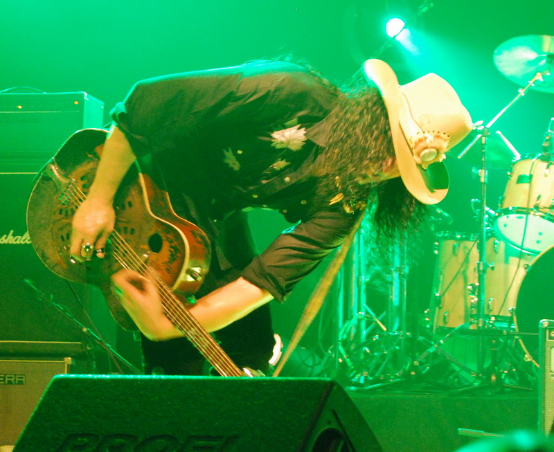 Eric Sardinas at Live Club - Trezzo 2010